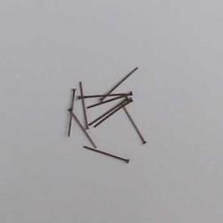 Ketlovací nýt - 2cm , 5ks - měď
