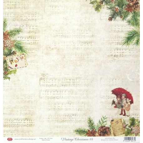 Vintage Christmas 03 - 30,5x30,5 scrapbook (Craft&You)