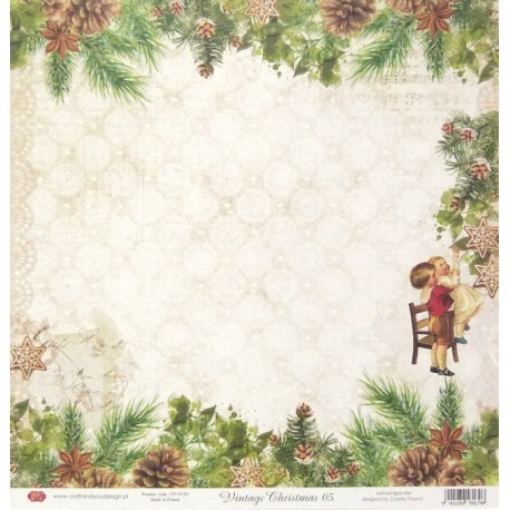 Vintage Christmas 05 - 30,5x30,5 scrapbook (Craft&You)
