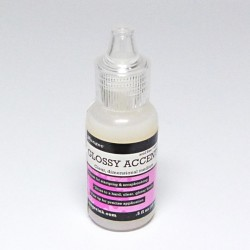 Accents Glossy lak/ lepidlo 18ml - lesklý
