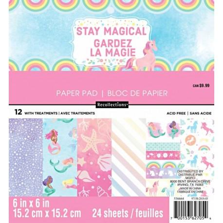 Sada papírů 15x15 Stay Magical (Craft Smith)