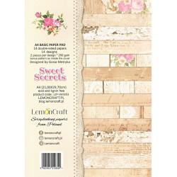 Sada scrap.papírů A4 Sweet Secrets