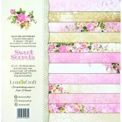 Sada papírů 30,5x30,5 Sweet Secrets + bonus