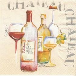 Růžové víno 33x33