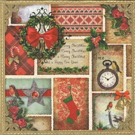 Vánoční čas 33x33