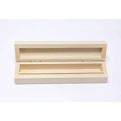 Dřevěný penál na jedno pero