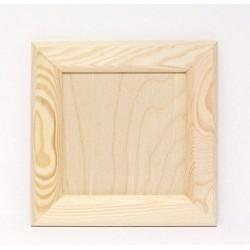 Dřevěný plný rámeček 19x19