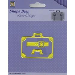 Vyřezávací šablony - Cestovní zavazadlo (Nellie´s Choice)
