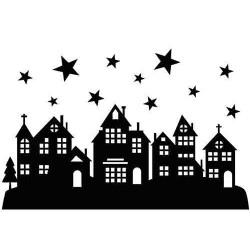 Embossovací kapsa - Hvězdná noc