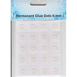 Permanentní lepící tečky 6mm (Nellie´s Choice)
