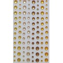 Samolepící kamínky Směs - dožluta