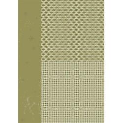 Papír na pozadí A4 - vánoční v zelené, stromky