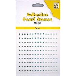 Samolepící perličky 2mm - domodra Nellie´s Choice