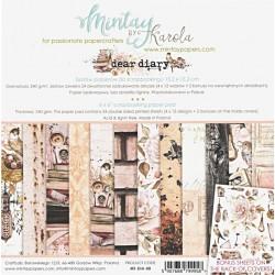 Sada papírů Dear Diary 15x15 (MT)