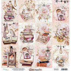 Dear Diary č.06 - 30,5x30,5 scrapbook (MT)