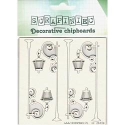 Lampy - 4ks chipboards