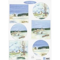 PapírA4 Winter Village (MD)