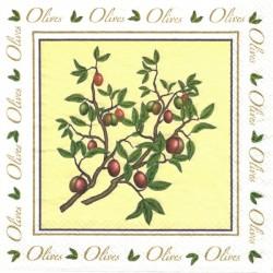 Olives - větvička 33x33