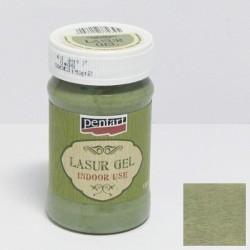 Pentart lazura gel 100ml - country zelená