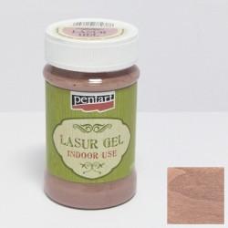 Pentart lazura gel 100ml - country růžová