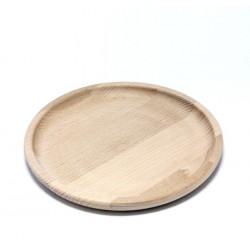 Dřevěný kulatý tácek prům.18,5cm