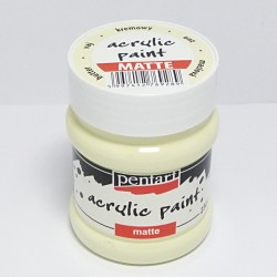 Akrylová barva Pentart 230ml - krémová, matná