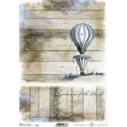 Papír rýžový A4 Horkovzdušný balón I.