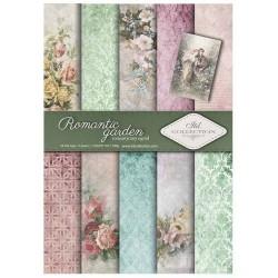 Sada papírů A4 - Romantic garden (ITD)