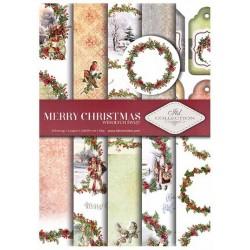 Sada papírů A4 - Merry Christmas (ITD)