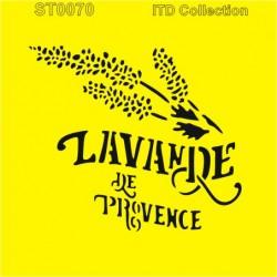 Šablona ITD - Lavande de Provence 16x16
