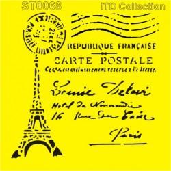 Šablona ITD - Carte Postale 16x16