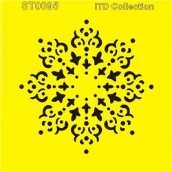 Šablona ITD - Vločka 16x16