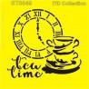 Šablona ITD - Tea Time se šálky 16x16