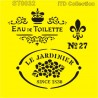 Šablona ITD - Le Jardinier 16x16