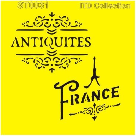 Šablona ITD - Antiquites France 16x16