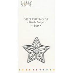 Vyřezávací šablona Hvězda