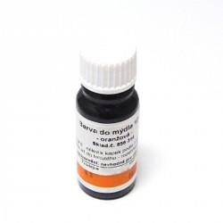 Barva na výrobu litých mýdel 10 ml - oranžová