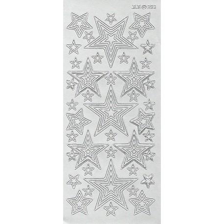 Kontury Hvězdy stříbro