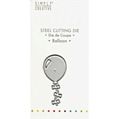 Vyřezávací šablona Balónek