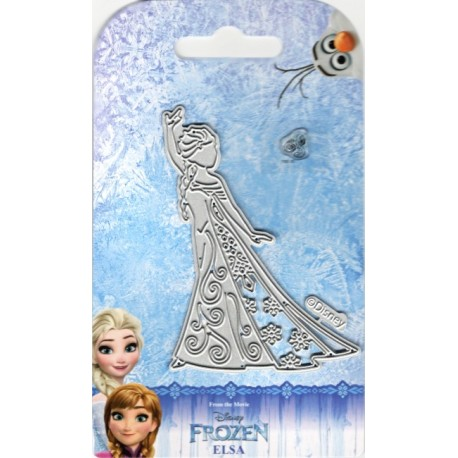 Vyřezávací šablona a razítko Elsa (Ledové království)
