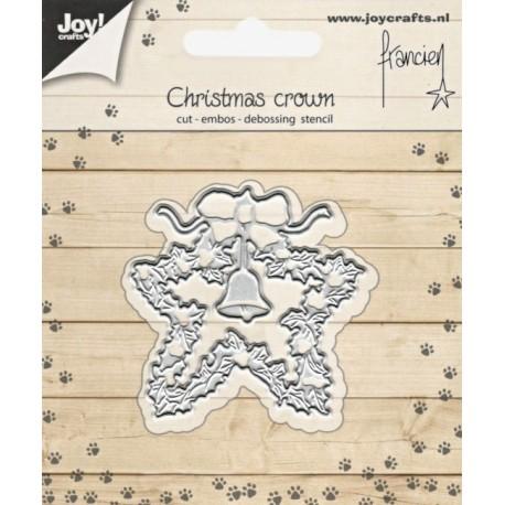 Vyřezávací šablona - vánoční dekorace (JC)