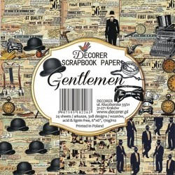 Sada papírů Gentlemen 15x15 (Decorer)