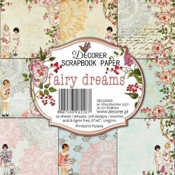 Sada papírů Fairy Dreams 15x15 (Decorer)