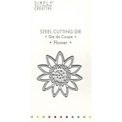 Vyřezávací šablona Květina