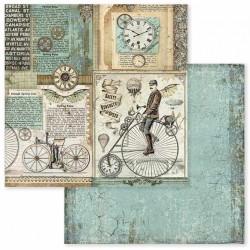 Voyages Fantastiques, bicykl 30,5x30,5 scrapbook