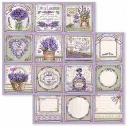 Provence, kartičky 30,5x30,5 scrapbook