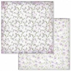Provence, květinový vzor 30,5x30,5 scrapbook