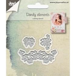 Vyřezávací šablony - jemné ornamenty (JC)