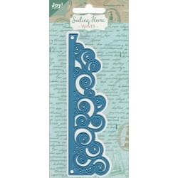 Vyřezávací šablona - mořské vlny (JC)