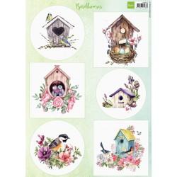 PapírA4 Birdhouses spring (MD)